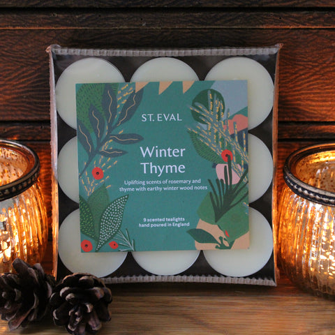 Christmas Scented Tealights - Winter Thyme
