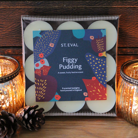 Christmas Scented Tealights - Figgy Pudding