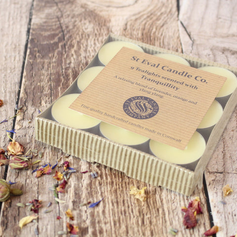 St Eval Tranquility Scented Tealights