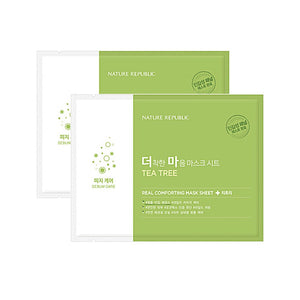 REAL COMFORTING MASK SHEET [ Tea Tree ]