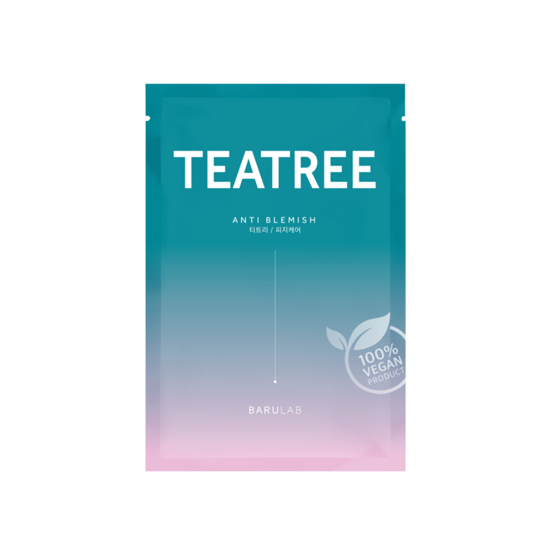 [BARULAB] The Clean Vegan TEATREE Mask Switzerland
