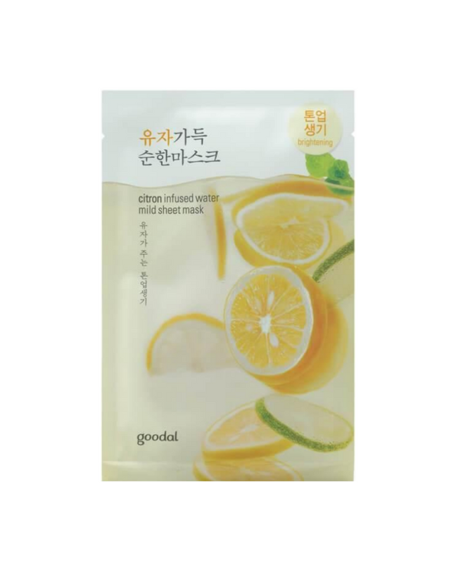 Citron Infused Water Mild Sheet Mask