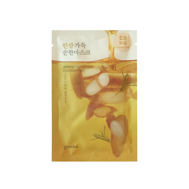 GOODAL Ginseng Infused Water Mild Sheet Mask Switzerland