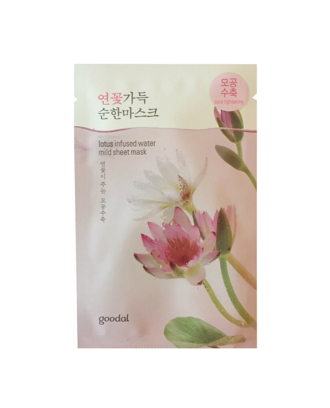 Lotus Infused Water Mild Sheet Mask