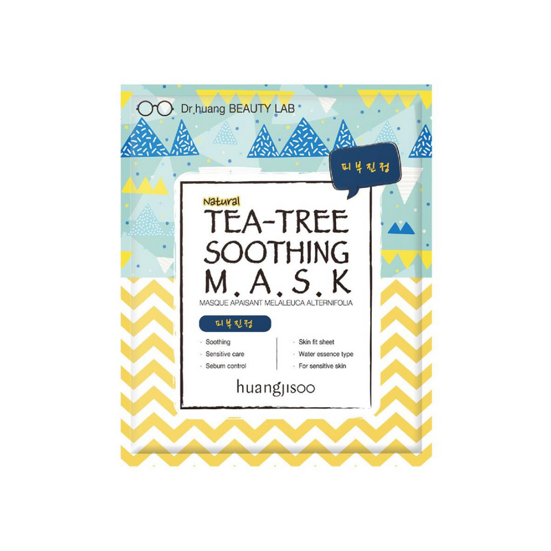 HUANGJISOO Tea-Tree Soothing Sheet Mask Switzerland