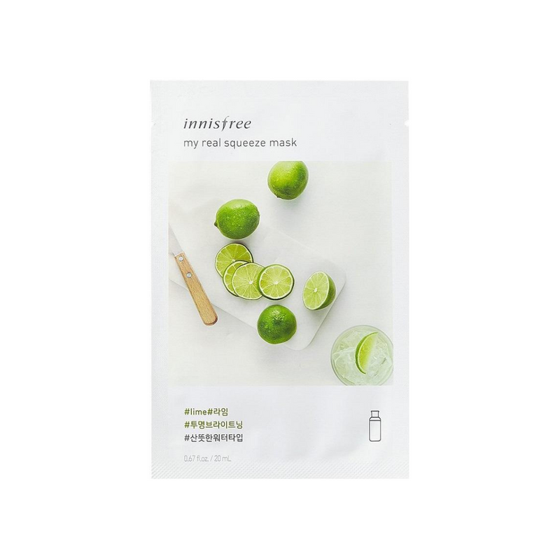INNISFREE My Real Squeeze Mask Lime Switzerland