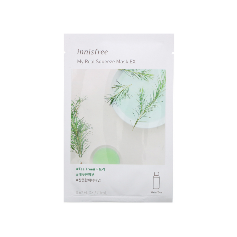 INNISFREE My Real Squeeze Mask Tea Tree  Switzerland