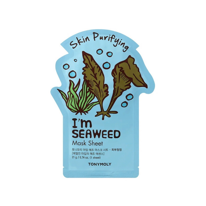 I'm Real Sheet Mask [ Seaweeds ] Skin Purifying