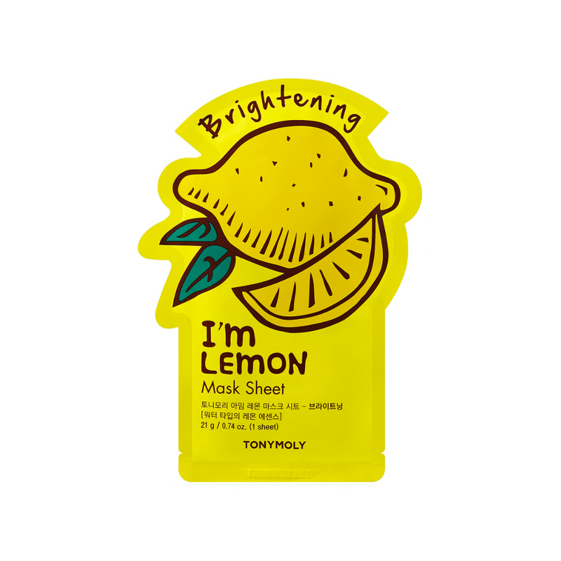 I'm Real Mask Sheet Mask [ Lemon ] Brightening