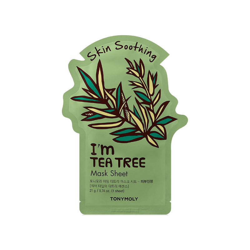 I'm Real Sheet Mask [ Tea Tree ] Soothing