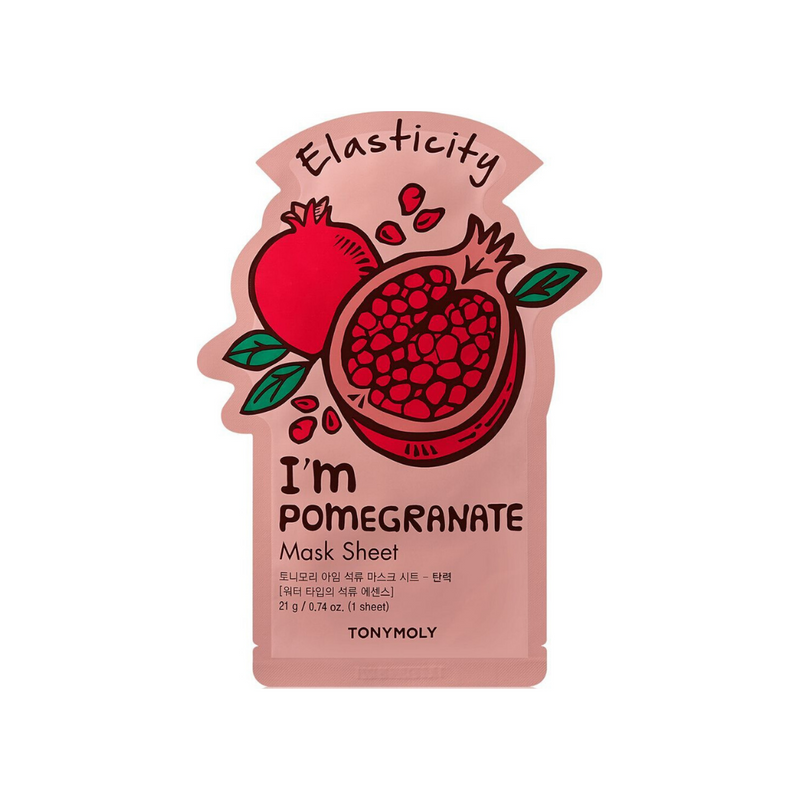 TONYMOLY I'm Real POMEGRANATE Mask Sheet Switzerland