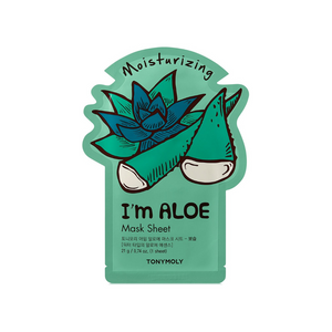 Ich bin Real Sheet Mask Aloe Moisturizing