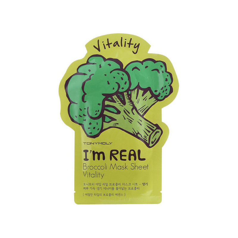 I'm Real Mask Sheet Mask [ Broccoli ] Vitality