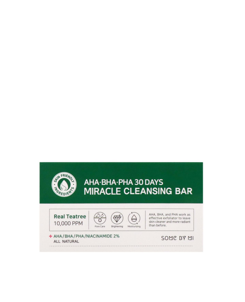 SOME BY MI AHA.BHA.PHA 30 Days Miracle Cleansing Bar Switzerland