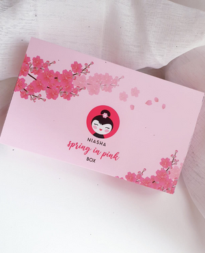NIASHA Spring in Pink Mask Box