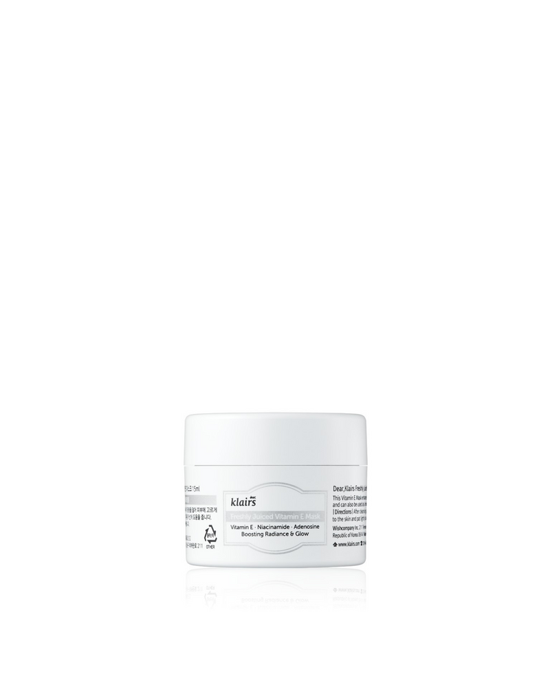 dear,KLAIRS Freshly Juiced Vitamin E Mask Switzerland