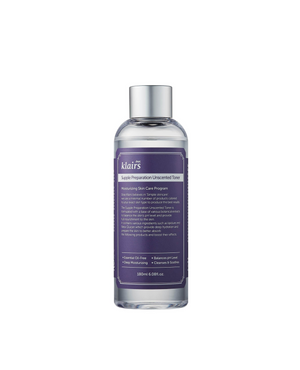 Supple Preparation Unscented Toner