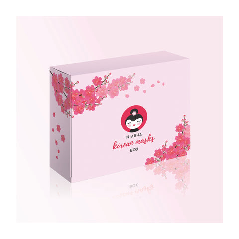 NIASHA Korean Masks BOX - Mother's Day Edition