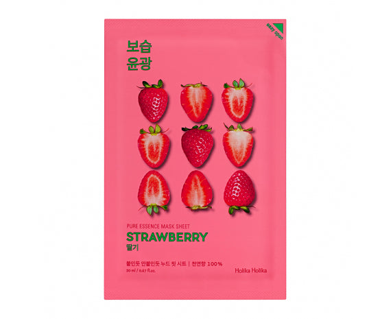 Pure Essence Mask Sheet - Strawberry