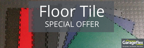 Garageflex Premium Floor Tiles Special Offer
