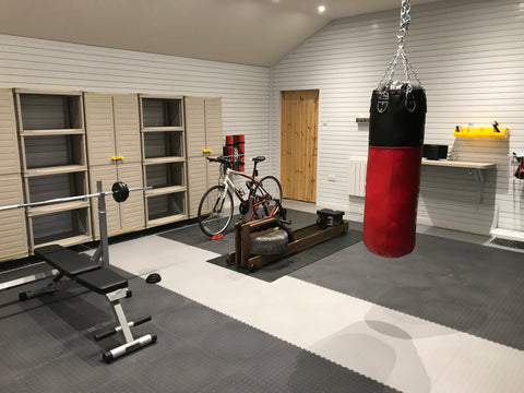Turn your garage into a Home Gym