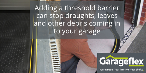 Threshold barrier for your garage by Garageflex