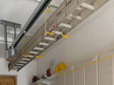 Ladder Storage for the Garage Ceiling by Garageflex