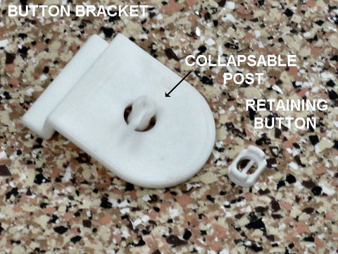 GSMSLTE Button Bracket - 10 Pcs