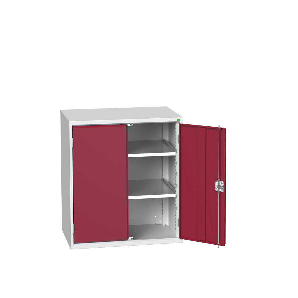 Garageflex metal base cabinet crimson red