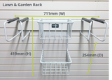 Gardening Storage Option 1 on FlexiTrack