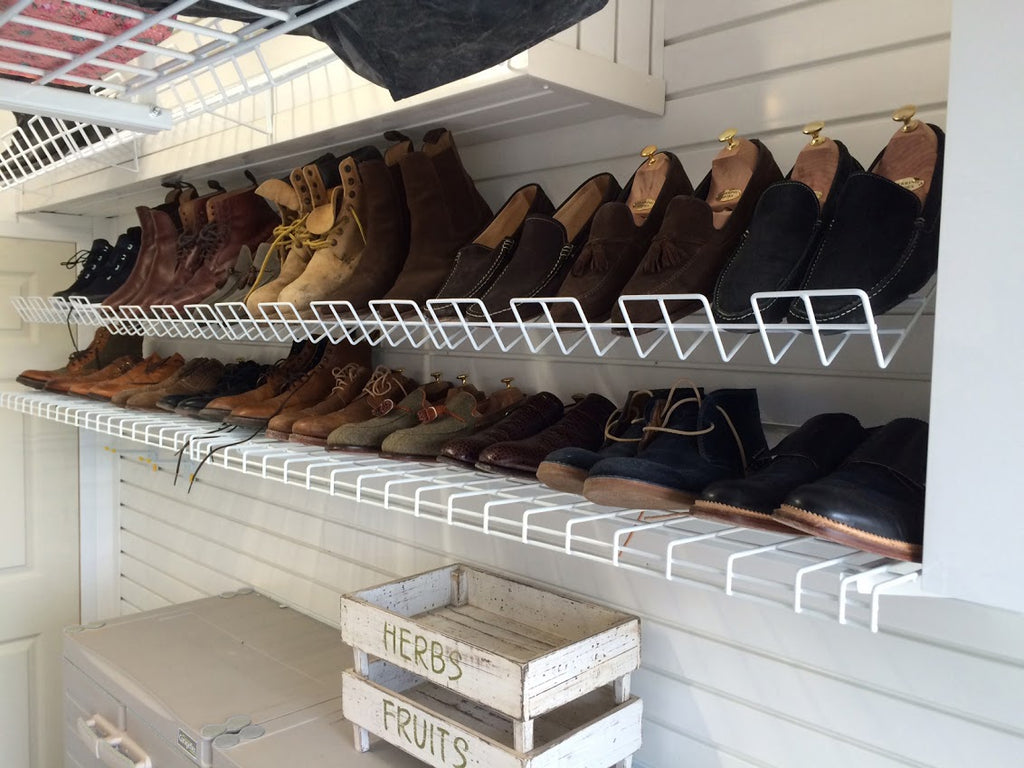 Garageflex Shoe Rack For Storing Your Shoes On Your Garage