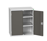 Garageflex metal base cabinet dark grey anthracite