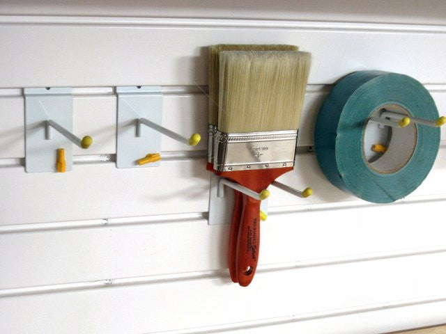 Garageflex Hook Pack for storing items on your garage wall