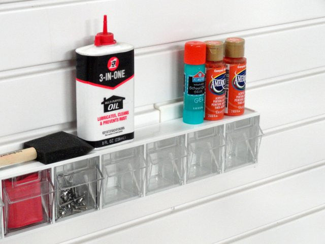 Garageflex Tip Out Bins: great storage for your garage wall