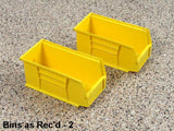 1 medium storage bin for storing items in your garage by Garageflex