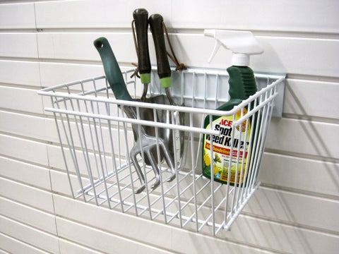 Garageflex Deep Basket for storing items on your garage wall