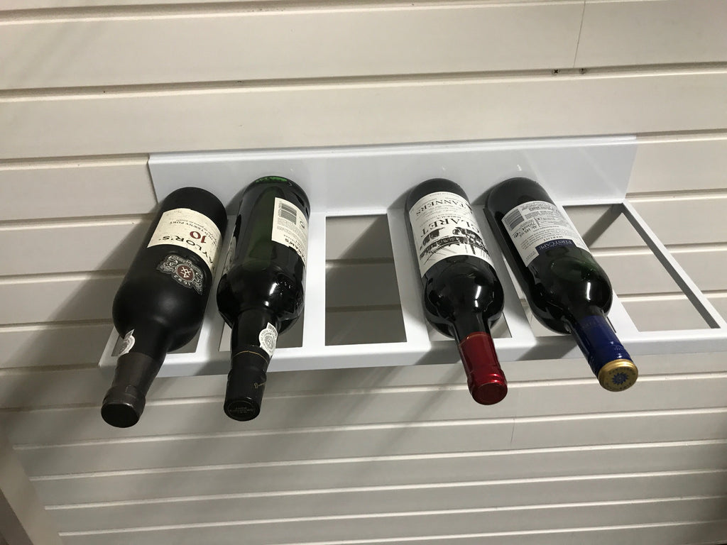 Wall Mounted Wine Rack by Garageflex