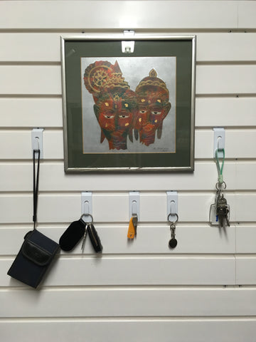 Mini clip pack to mount items on your garage wall by Garageflex