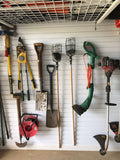 Hook Pack for storing items on your garage wall by Garageflex