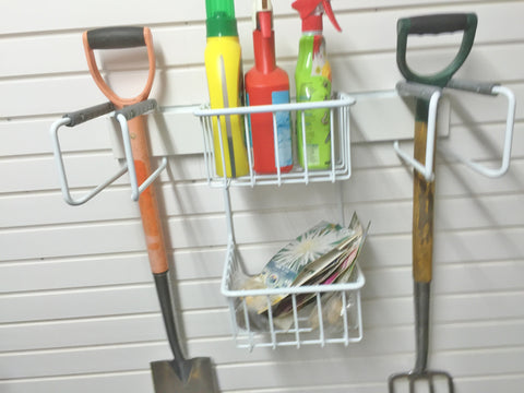Garageflex Gardening Rack for your garden equipment storage