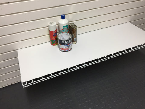 Garageflex 1200mm Shelf for storing items on your garage wall