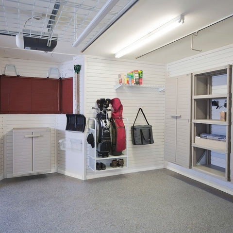 Golf Storage for your Garage from Garageflex