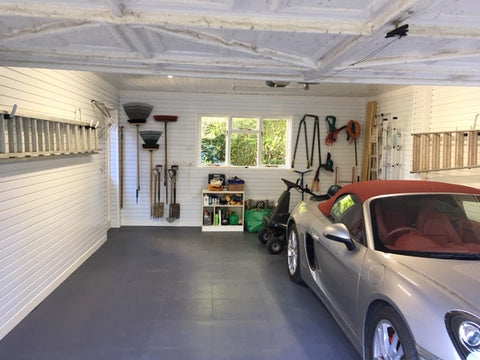 Premium Range: Smooth Garage Floor Tiles