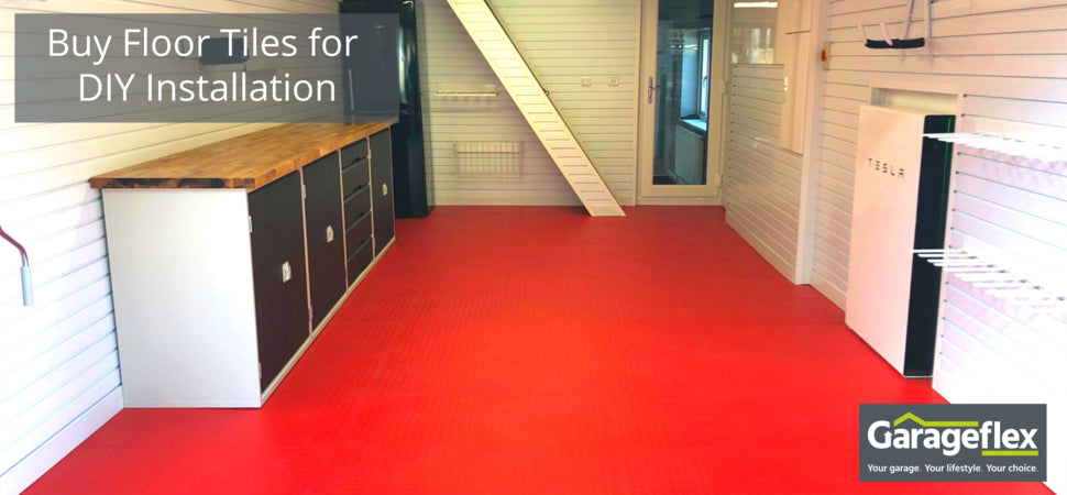 Garageflex range of Floor Tiles for your garage
