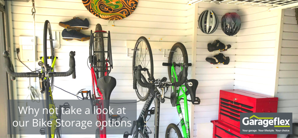 Our storage accessories   include hooks, brackets, racks and shelves