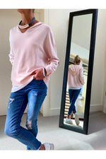 Load image into Gallery viewer, Pale Pink Hoodie