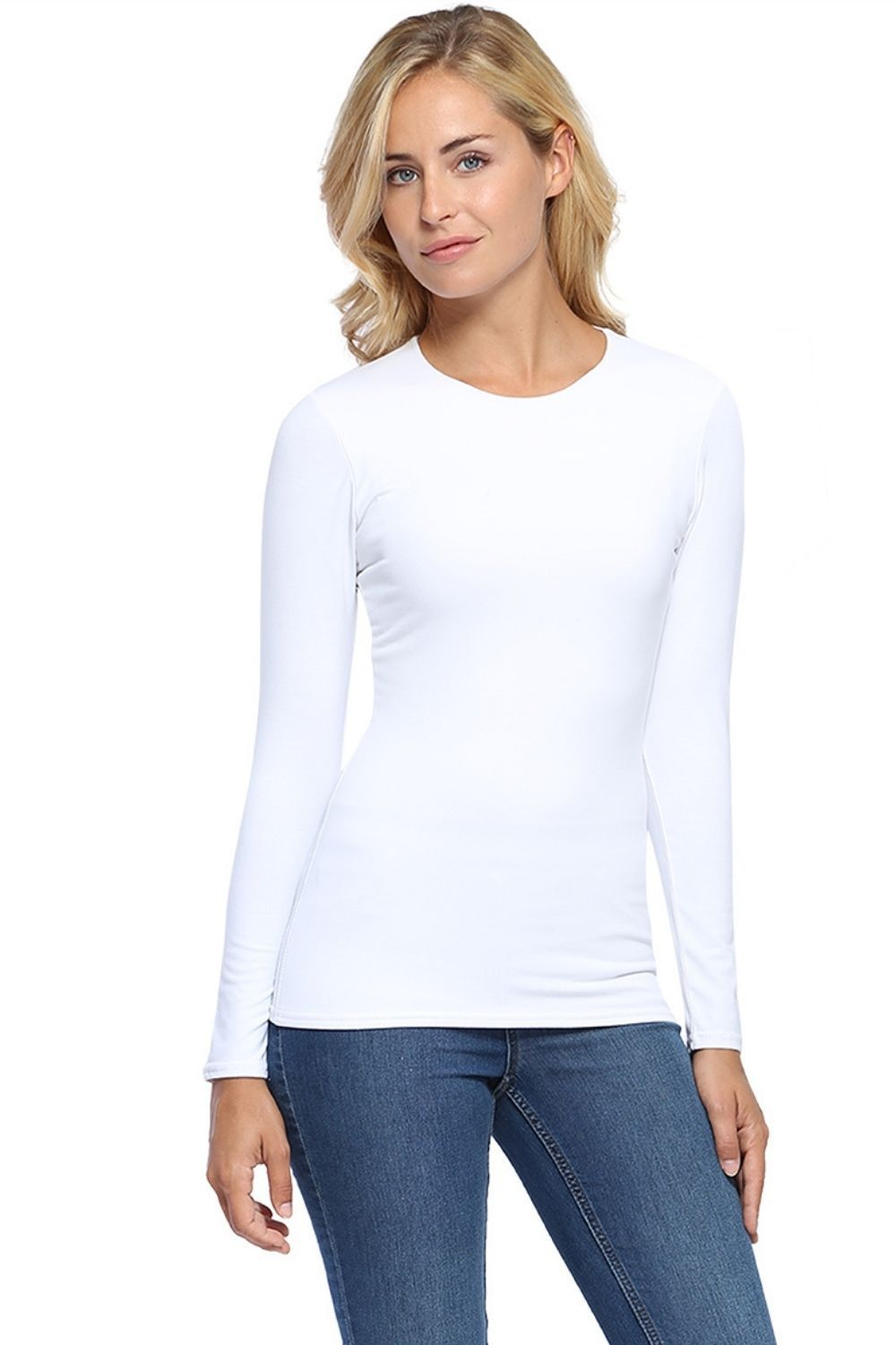 Katia Long Sleeve Tshirt White