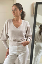 Load image into Gallery viewer, Sand Bell Sleeve Short Jumper