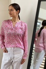 Load image into Gallery viewer, Primrose Park Sandy Leo Pink Shirt