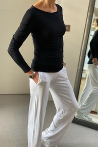 Tee shirt Pants in White